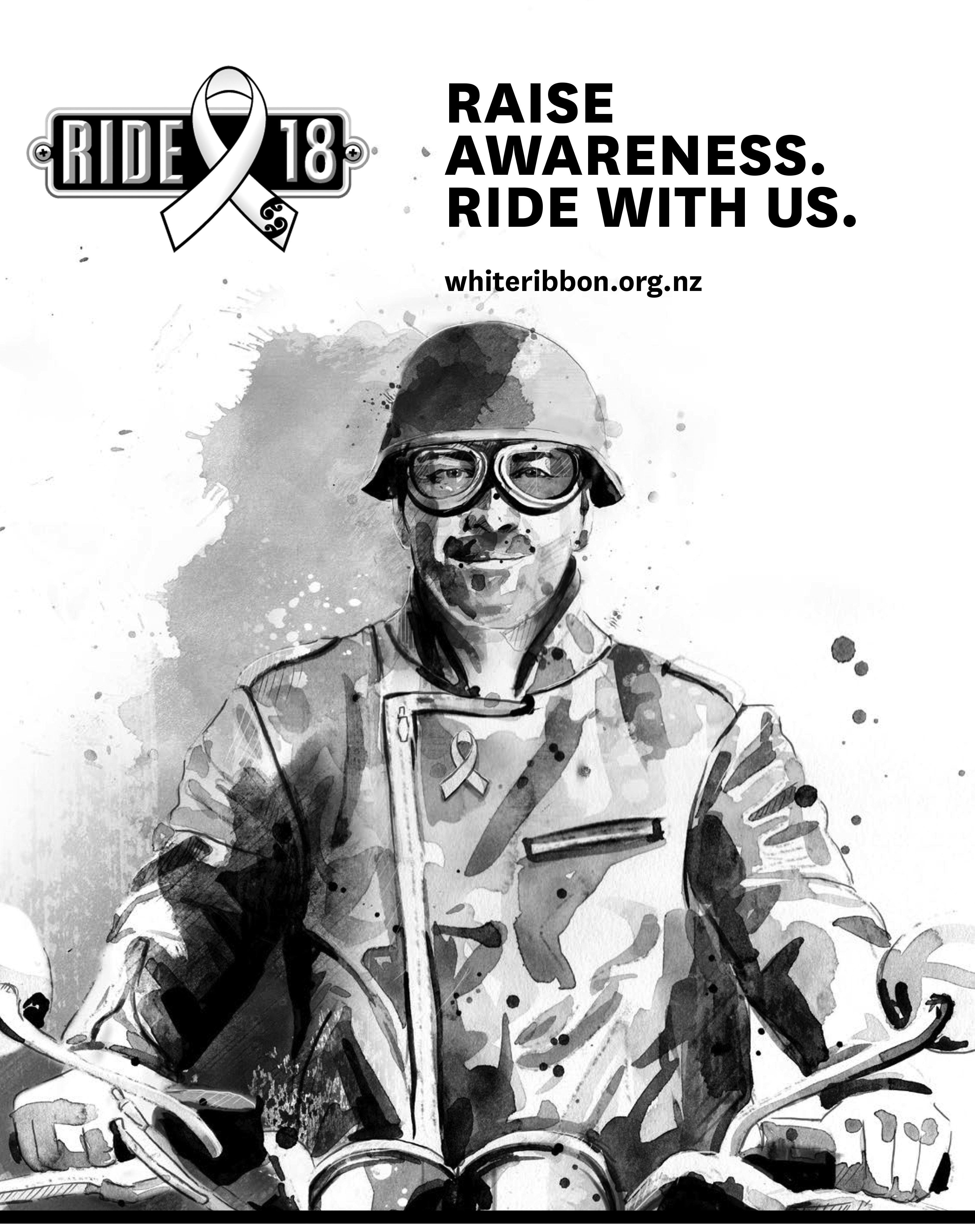 WHITE RIBBON RIDE RIDERS EVENTS PHOTOS The 2018 White Ribbon Ride Download the 2018 Ride Posterjpg Download the 2018 Ride Posterpdf The White Ribbon Ride is